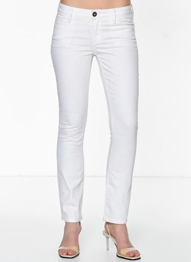 Banana Republic Jean Pantolon Beyaz